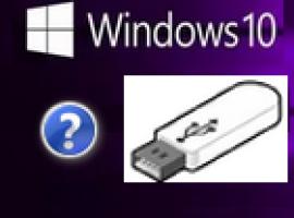 Создание установочной (загрузочной) флешки Windows 10 UEFI