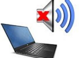 Пропал звук на ноутбуке: причины и их решение