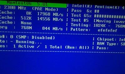 Тестирование оперативной памяти  Программа для теста (ОЗУ, RAM)