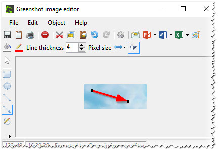 GreenShot: редактор скрина.