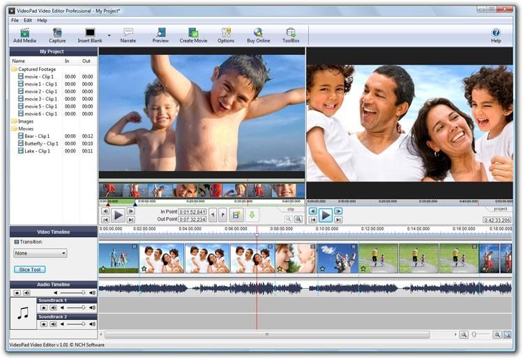 скачать видеоредактор для windows 7