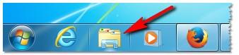 Открыть проводник - Windows 7