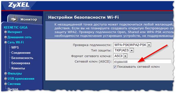 Рис. 11. Смена пароля на ZyXEL Keenetic