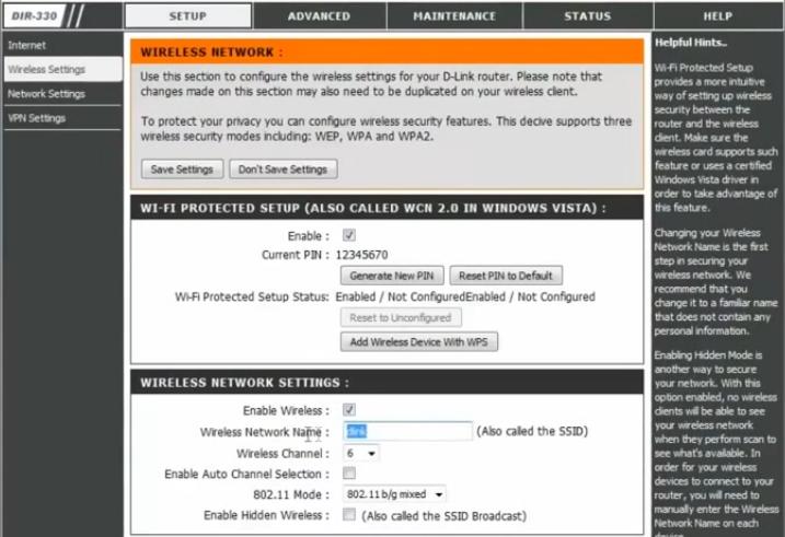 Настройка и подключение роутера D Link DIR 300 - 11