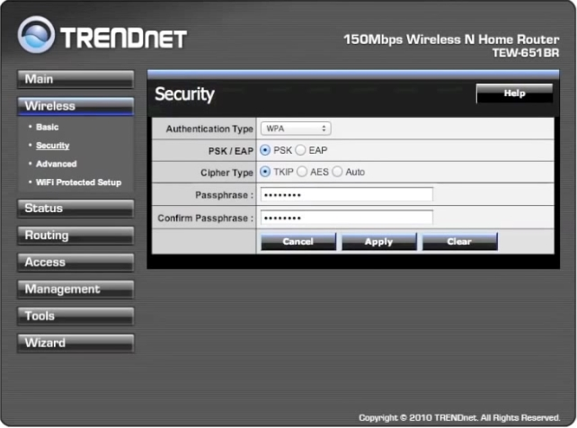 Trendnet Wireless Router Tutoria