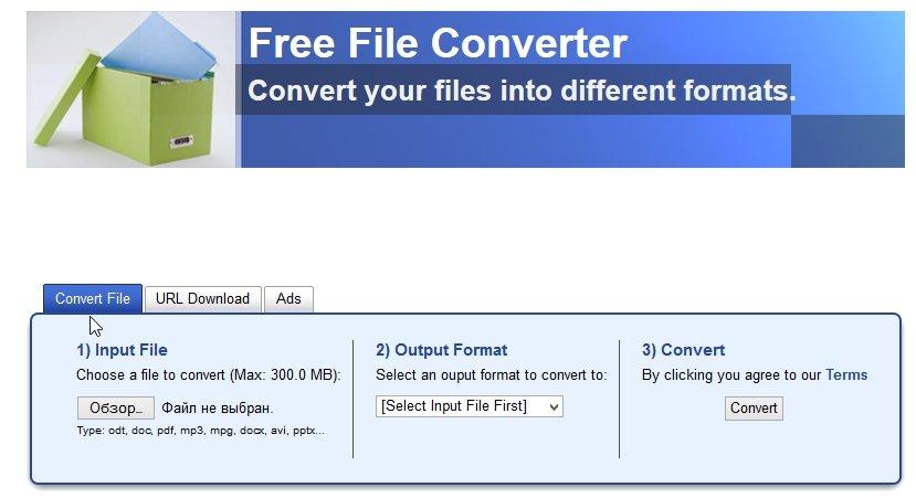 2014-05-11 12_48_54-Free File Converter _ Online file conversion - pdf docx odt flac xlsx jpg xls od