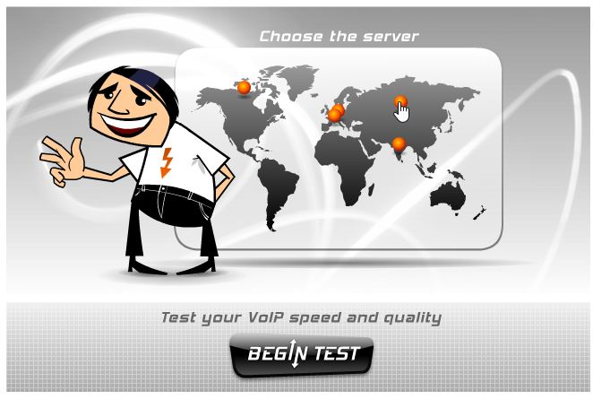 Сервис для тестирования скорости интернета VoIP Test
