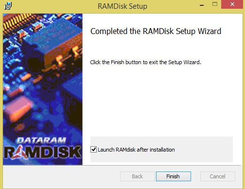 3-запуск программы-RAMDisk Setup