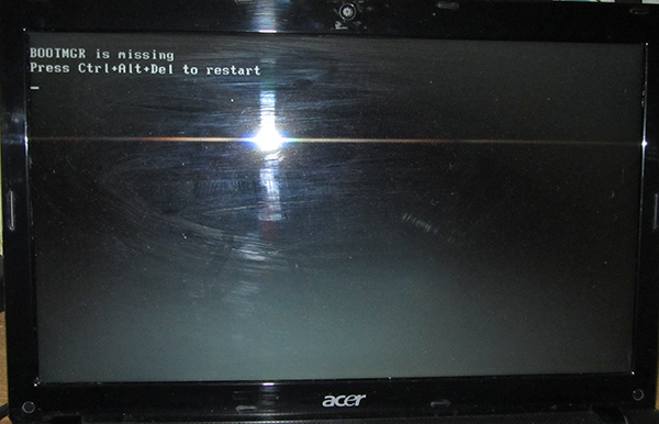 белый экран при загрузке видео