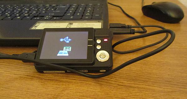 Как подключить фотоаппарат canon к компьютеру