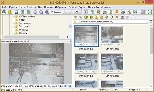 Главное-окно-программы-FastStone-Image-Viewer