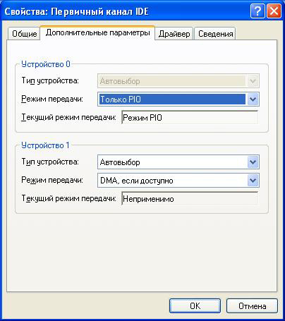 PIO-режим-Windows-XP