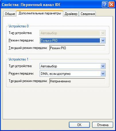 PIO-режим-Windows-XP