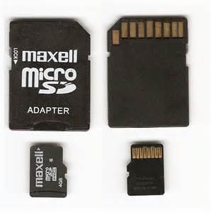 microSD флешка с адаптером
