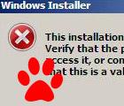 Невозможно установить программу в Windows — ошибки…
