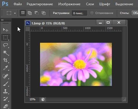 как уменьшить размер картинки в photoshop