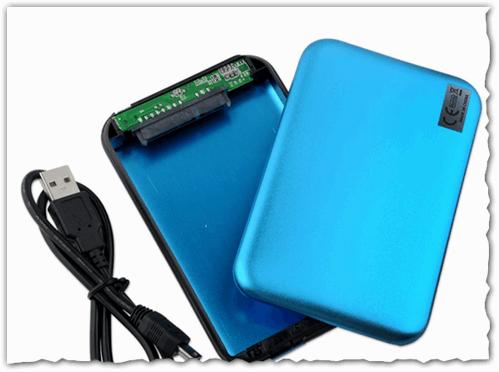Рис. 4. Бокс (Box с агл. переводиться как коробка) для подключения жесткого диска к USB порту компьютера