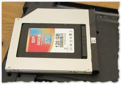 Как подключить 2 диска HDD и SSD к ноутбуку