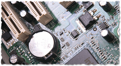 Рис. 2. Типичная батарейка на материнской плате компьютера