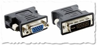 Рис. 3. Переходник VGA to DVI
