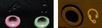 Рис. 5. гарнитурный разъем (справа)