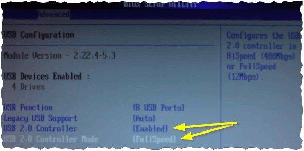 Рис. 1. Настройка BIOS