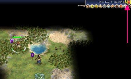 В правом (левом) верхнем углу отображается желтыми цифрами количество FPS в игре.