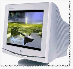 Стандартный ЭЛТ монитор