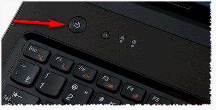 Кнопка питания - ноутбук Lenovo