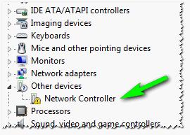 Network Controller. Windows 7 (англоязычная)