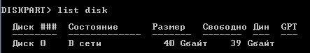 Рис. 8. List disk