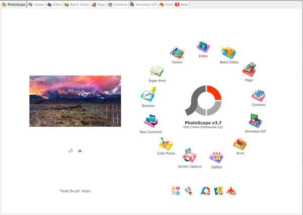Программа Photoscape для работы с фотографиями