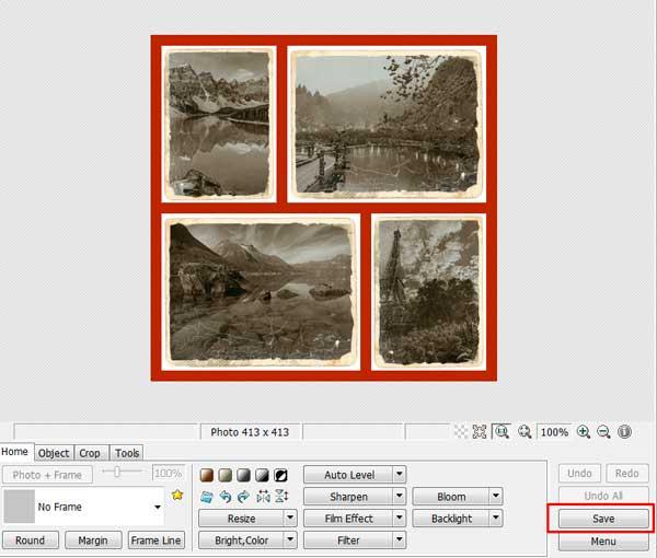 Обработка фотографий в программе Photoscape