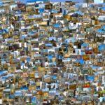 Большой коллаж из фотогафий
