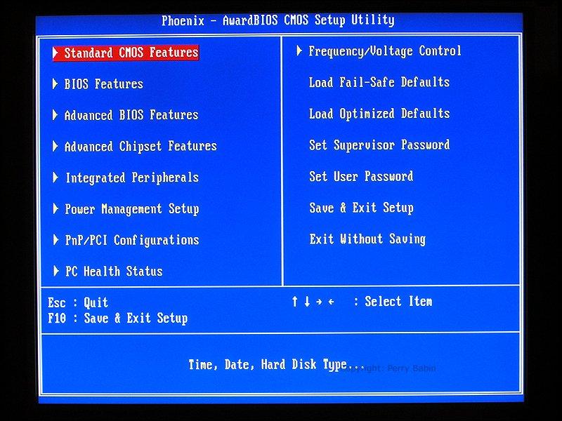 Различия BIOS и UEFI