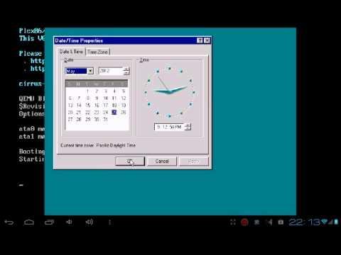 Запуск Windows с Bochs на примере версии 95