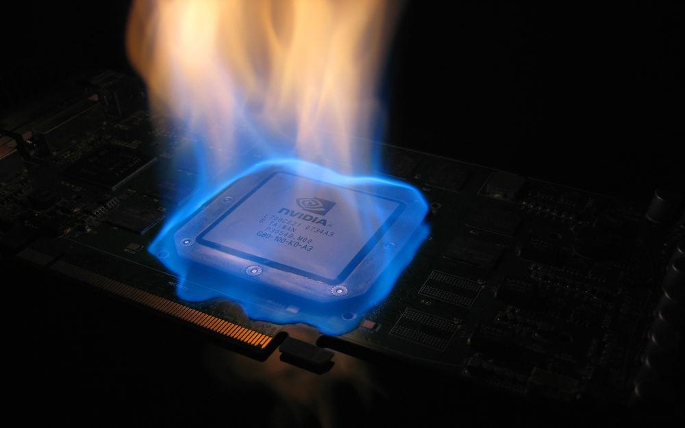 Горящий процессор