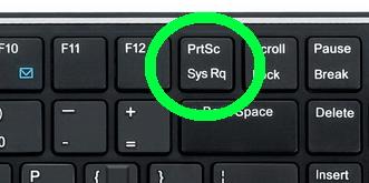 Клавиша Prt Sc SysRq на клавиатуре