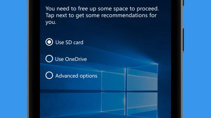 Резервное копирование данных посредством «Помощника по обновлению до Windows 10 Mobile»