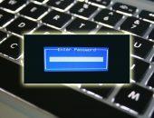 Ввод пароля BIOS