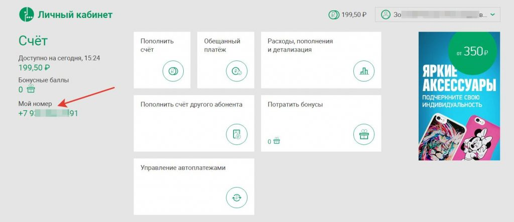 Официальный сайт «Мегафон»