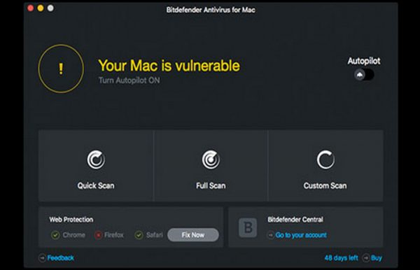 Bitdefender Antivirus for Mac 5.2