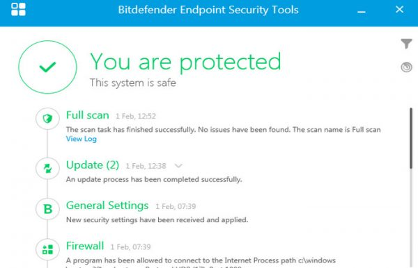 Bitdefender Endpoint Security 6.2