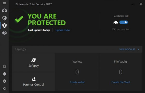 Bitdefender Internet Security 22.0.