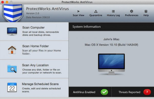 ProtectWorks AntiVirus 2.0