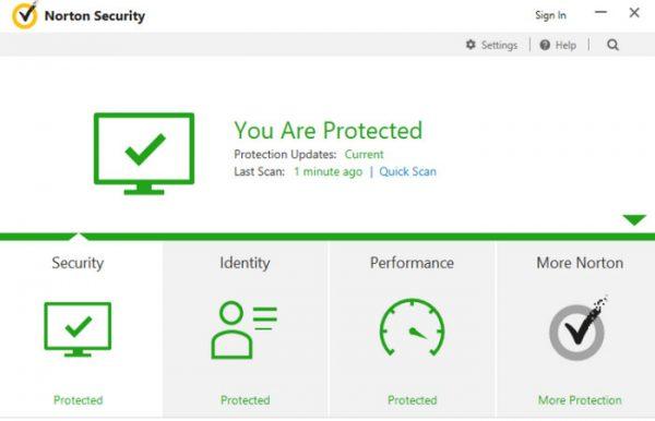 Symantec Norton Security 7.3