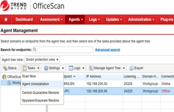 Trend Micro Office Scan 12.0