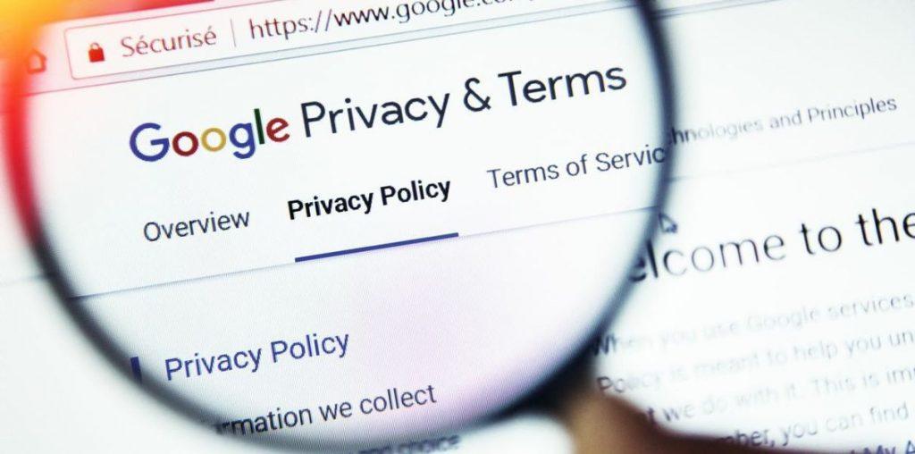 google chrome сканирует данные
