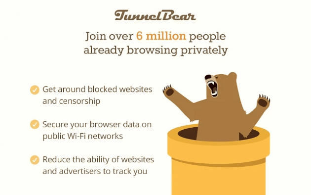 VPN TunnelBear VPN