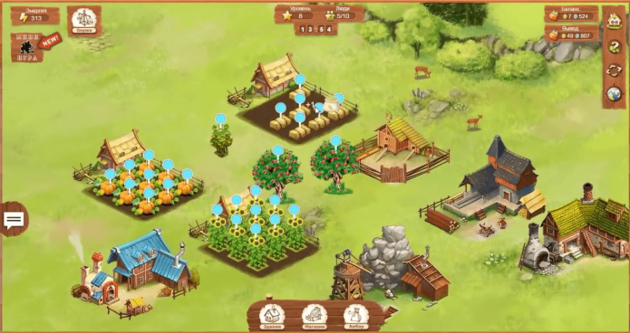 Скриншот игры World of Farmer
